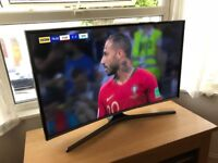 "Samsung Curved 40"" full hd smart led tv.Excellent condition,hardly used. £280 NO OFFERS.CAN DELIVER"