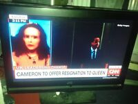 "FAULTY TV 32"" JVC flatscreen TV"