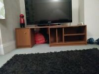 Shelving unit! Used for books, TV, general storage! £10