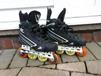 CCM Vector inline Hockey skates UK 3.5