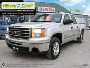 2012 GMC Sierra 1500 SLE. *Z71 Package, 4x4, Bench Seating*