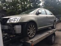 BREAKING 2004 TOYOTA AVENSIS 1.8 T3-S - BREAKING FOR SPARES / PARTS, ALL PARTS AVAILABLE,ENGINE SOLD