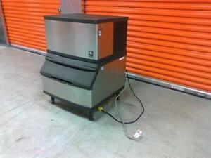 300 POUND ICE MACHINE WITH BIN