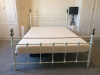 Nice double bed for sale with a mattress