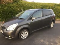 2008 Toyota Corolla Verso 7 seater VVT-i with new 1 year MOT