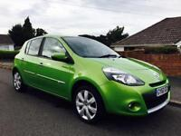 REDUCED 2010 RENAULT CLIO 1.2 TOM TOM LIMITED EDITION 67,000 MILES