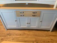 Large grey oak sideboard brand new
