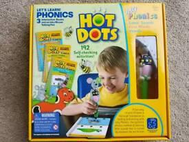 Hot Dots Lets Learn Phonics