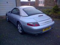 1999 porsche 911 (996) carrera 4(awd) convertible
