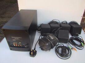 Cambridge SoundWorks Desktop Theater 5.1 DTT2200 - 5.1-channel PC multimedia home theatre speakers