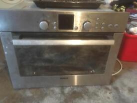 Bosch fan assisted oven