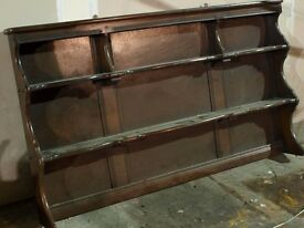 SOLID WOOD TRADITIONAL TOP/WALL DRESSER