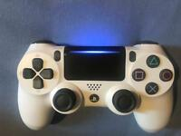 Ps4 white V2 controller, used twice! £32