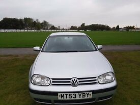 VW Golf TDI 12 months MOT