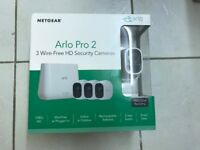 NETGEAR Arlo Pro 3 Camera Security System, HIGH QUALITY,!!BRAND NEW,SEALED,NEVER USED!!