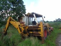 JCB 3C111 1977 working order