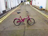 Super cute Edwardes vintage kids bike purple. Helswick Hopper. Excellent condition. Brompton tyres
