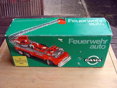 Patent Gama 2655 - Alte Feuerwehr mit FB und Elektroantrieb - TOP in OVP !