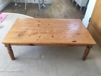 Large coffee table for up cycling