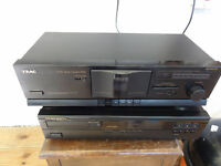 Teac V375 5 stars award tape player perfect working order