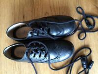 Ladies size 3 pipe band brogues