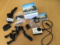Kitvision Escape HD5 Action Camera Waterproof up to 30m with 32GB micro sd card