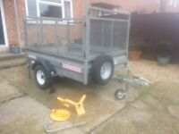 6x4 wessex cage trailer