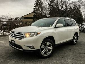 2013 Toyota Highlander SPORT-LEATHER+SUNROOF!