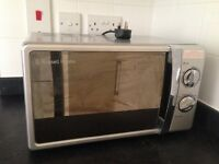 Second hand Russell Hobbs microwave for sale