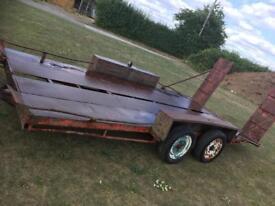 Car trailer / light plant trailer