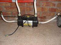 electric show pump