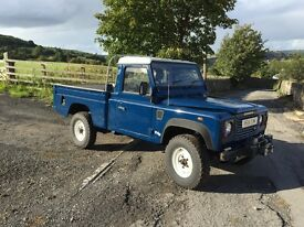 Land Rover defender 110 hi cap pickup