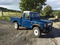 Land Rover defender 110 hi cap pickup