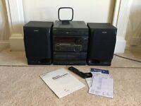 MINI HI-FI SYSTEM.....Vintage Retro Sony...MHC-801