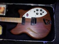 Rickenbacker 360w six string excellent condition.