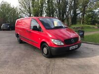 LOW MILEAGE MERCEDES VITO X LONG