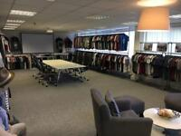 300+ pieces of Mens Clothing Samples - Tshirts, sweatshirt, jumpers, joggers, trousers & jackets