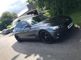 BMW 3 Series F30 Efficient Dynamics Business Edition 2014 Semi Auto FSH SAT NAV LEATHER Mineral Grey