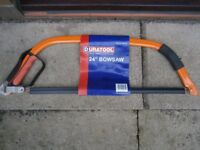 Duratool 24 Inch Bowsaw
