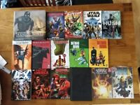 Marvel and DC Comic collection