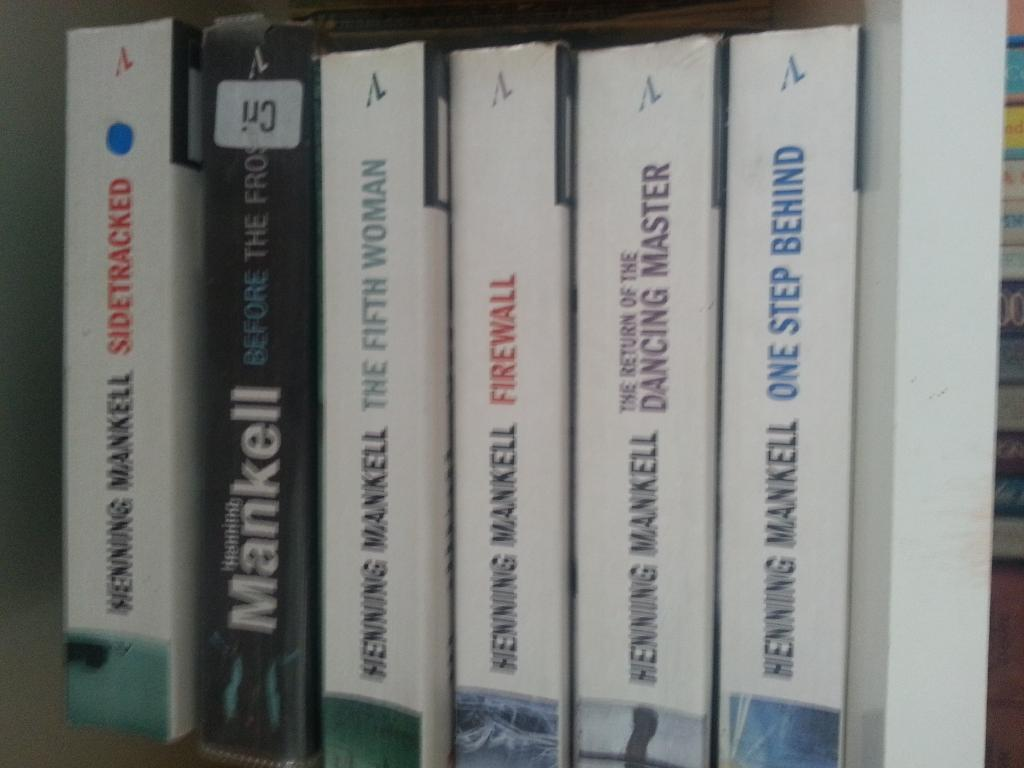 6 Henning Mankell paperbacksin Bromley, LondonGumtree - 6 second hand paperback books by Henning Mankell. Please see photo for the titles