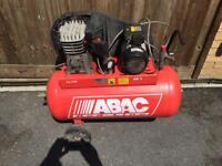 100l air compressor in great working order