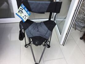 Fishing stool, brand new with labels attached,liquidation stock
