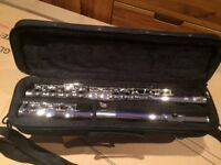 Flute - SMS Academy wind Instrument.unused present. Beautiful peice