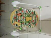 Safari Baby Swing Chair - Mothercare. Excellent as new condition. Unwanted gift.