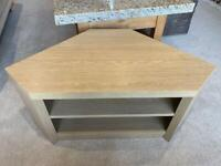 Next light oak effect tv stand corner stand used good condition