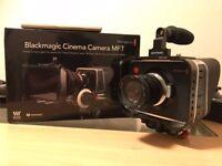 Blackmagic Cinema Camera MFT - Complete Rig