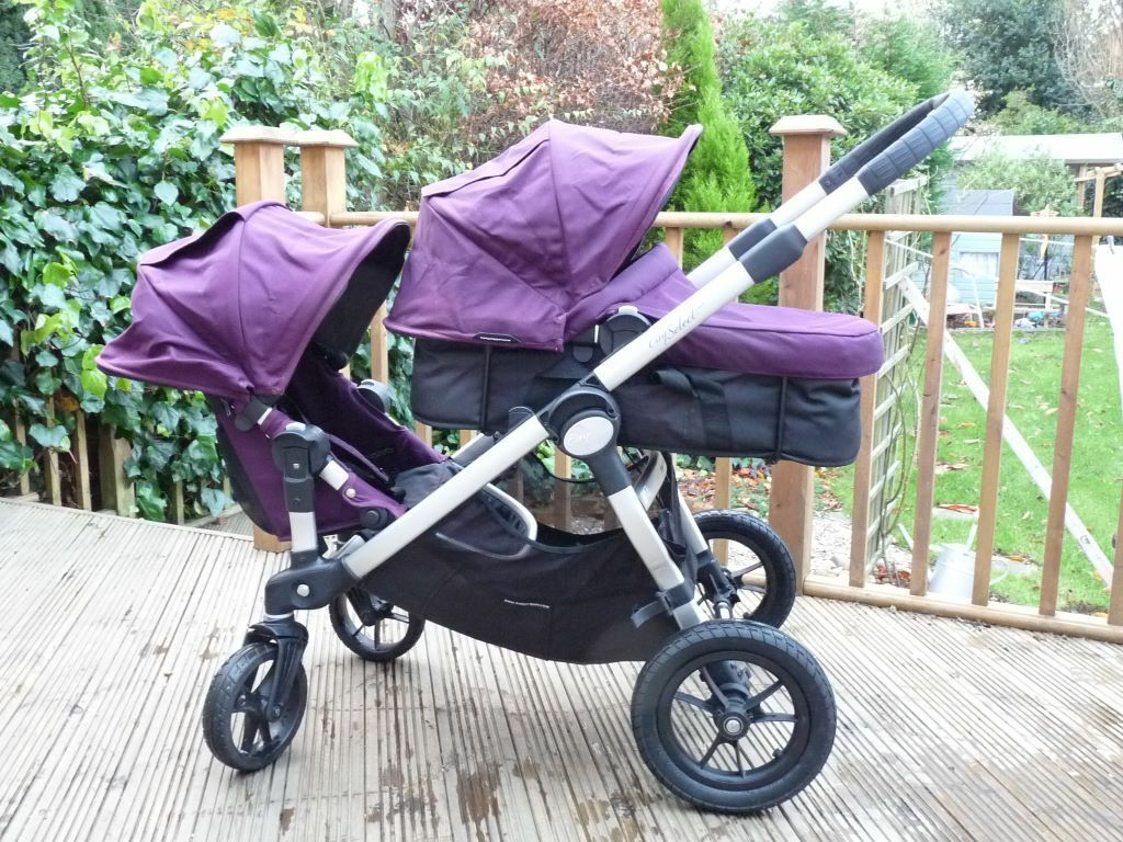 Baby Jogger City Select Double Tandem Twin Pushchair With