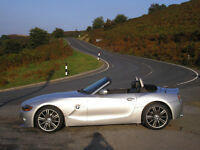 "BMW Z4 2.5 SE Sport new mot nice clean car 18"" alloys Leather not slk mx5 boxster TT slk part x tvr"