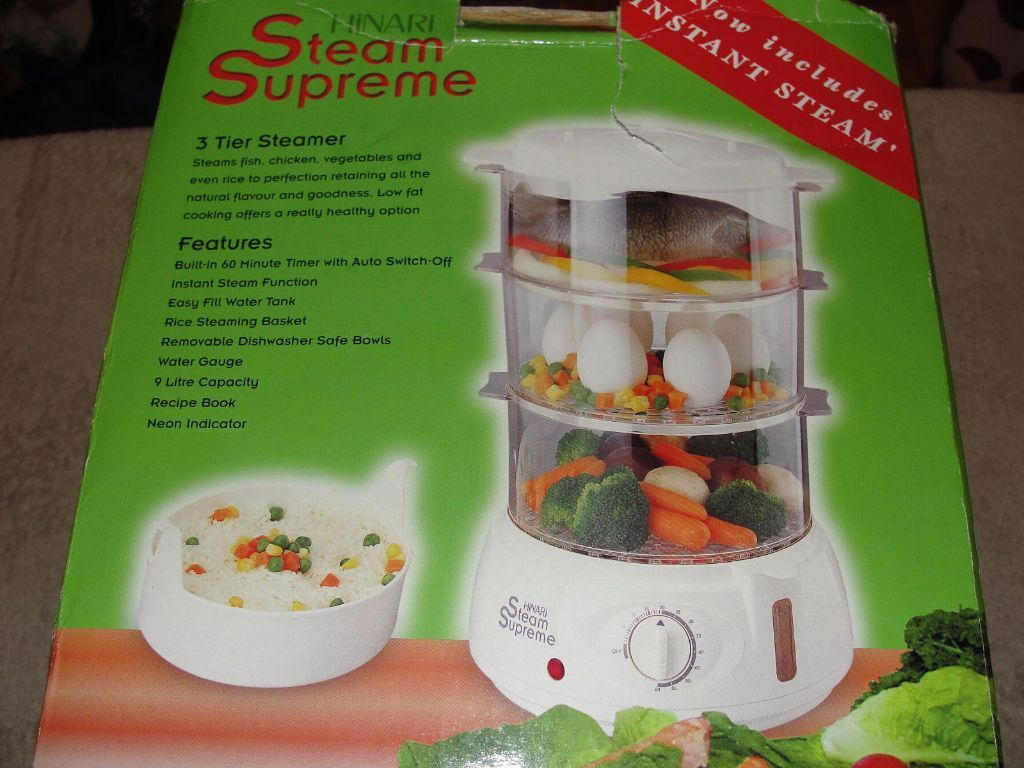 Hinari Steam Supreme Food Steamer in Colchester Essex  : 86 from www.gumtree.com size 1024 x 768 jpeg 103kB